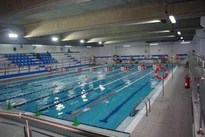 Instalaciones del polideportivo san agust n zaragoza un for Piscina cubierta zaragoza
